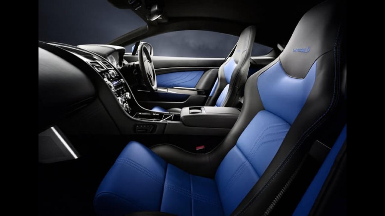 Aston Martin V8 Vantage S 2012: novo câmbio de 7 marchas e motor de 436 cv