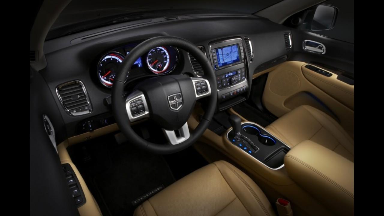 Dodge Durango será vendido no Brasil em 2012 com preço na casa dos R$ 140.000