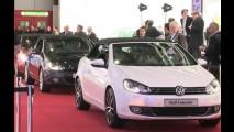 VÍDEO: Novo Volkswagen Golf Conversível no Salão de Genebra