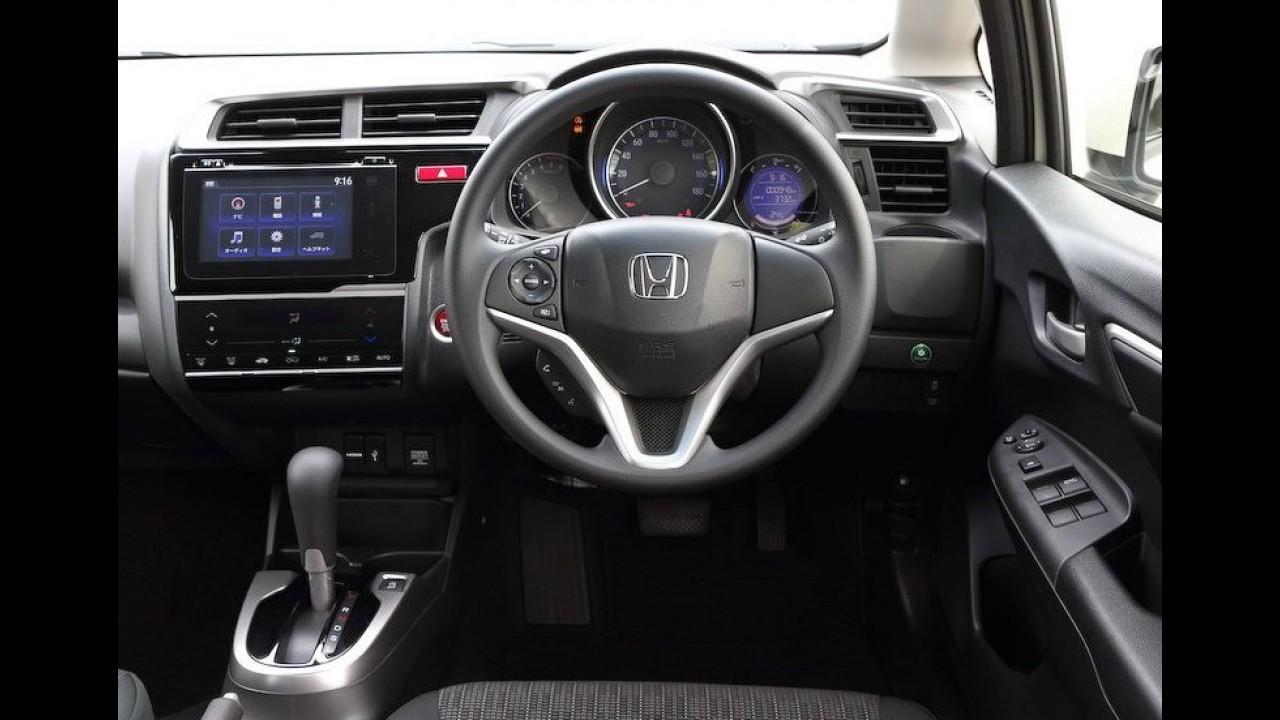 Novo Honda Fit 2014 custa o equivalente a R$ 29.500 no Japão