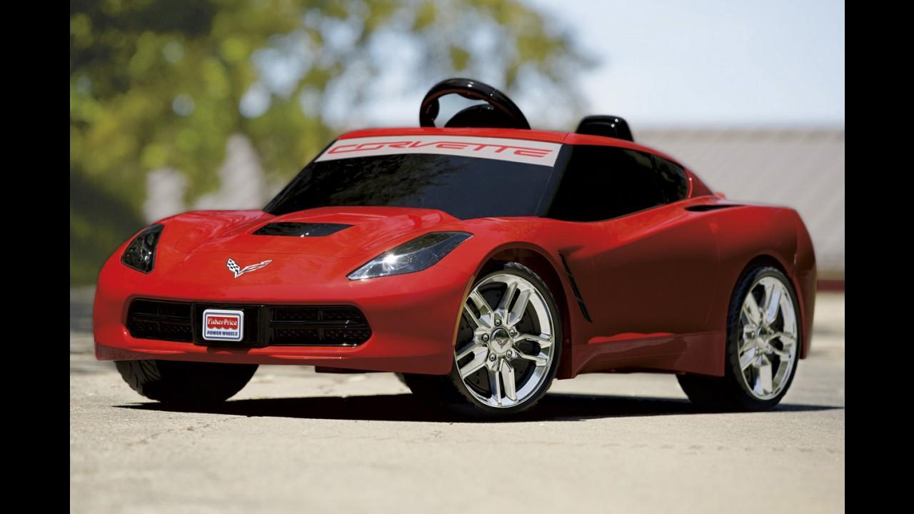 Pilotos infantis: Corvette C7 ganha versão exclusiva para crianças