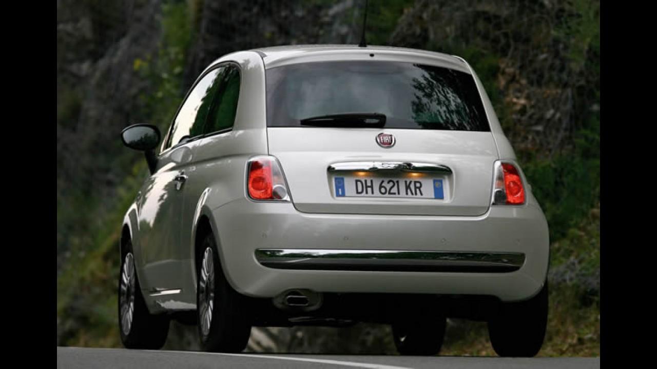Salão de Paris: Fiat apresentará o 500 bicombustível (gasolina + gás)