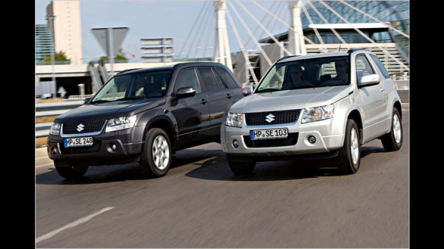 Suzuki Grand Vitara künftig 2.000 Euro günstiger