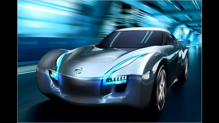 Schnittig und agil: Elektro-Sportwagen Nissan Esflow