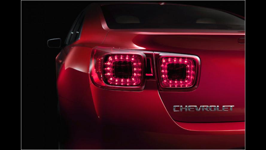 Chevrolet Malibu: Die achte Generation kommt