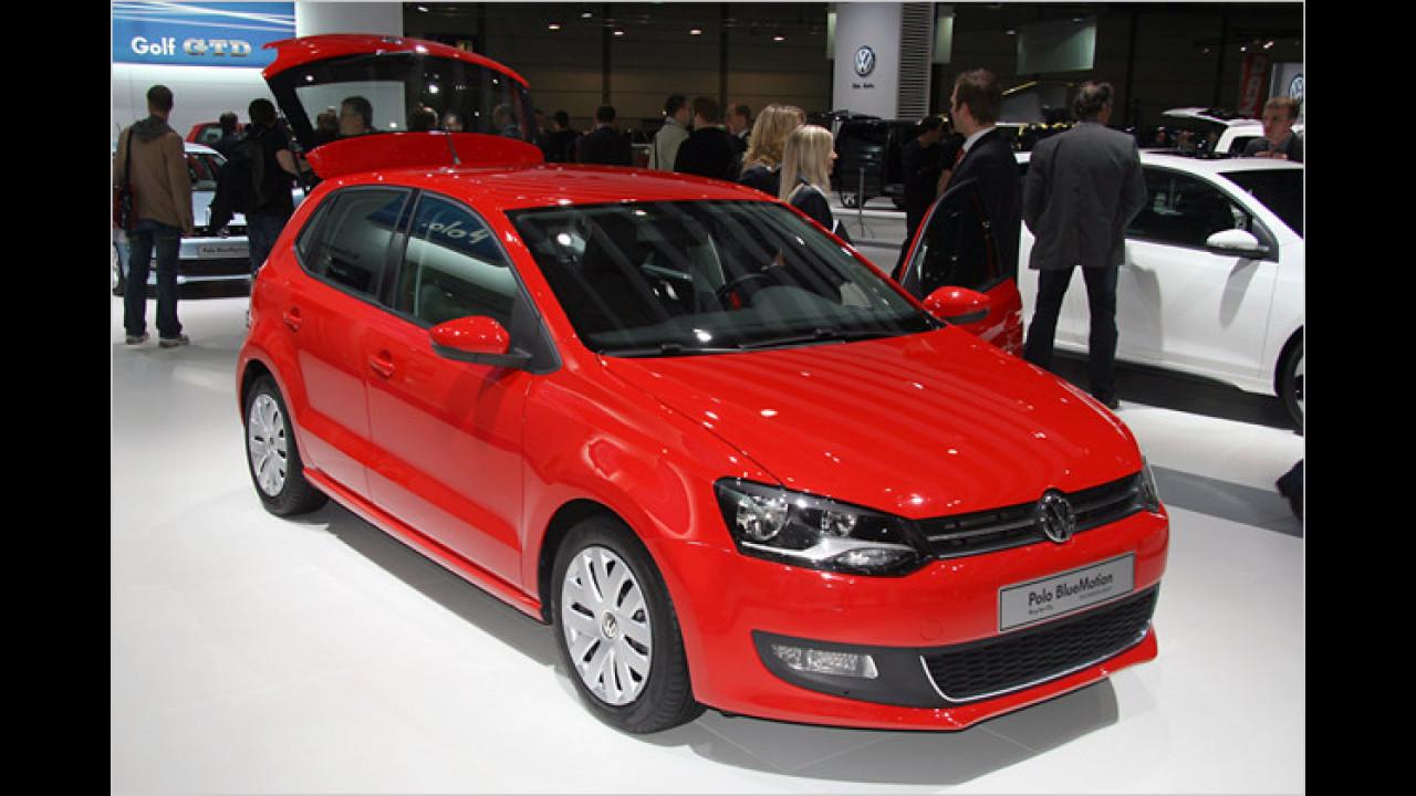 VW Polo (im Bild die BlueMotion-Version)