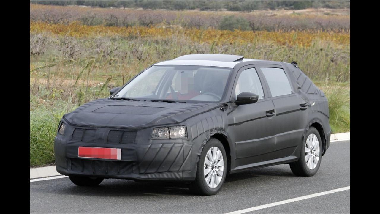 Erwischt: Billigauto von VW