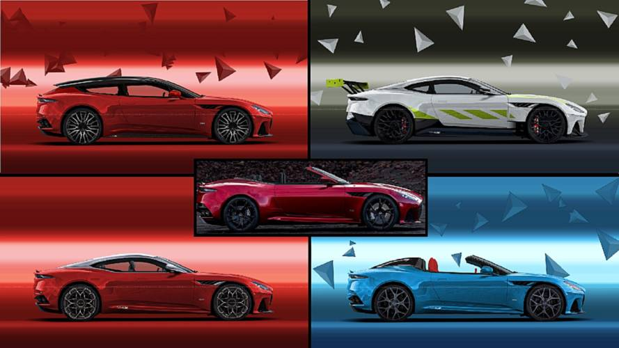 Aston Martin DBS Superleggera'ya 5 farklı tasarım yorumu