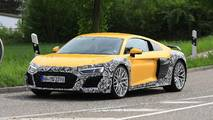 Refreshed Audi R8 Spy Photos