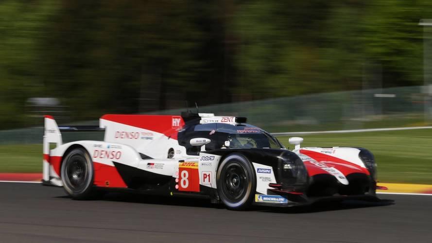 Alonso y Toyota terminaron la jornada en lo más alto