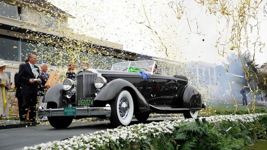 Une Packard de 1934 distinguée à Pebble Beach va être vendue aux enchères