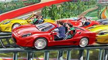 Fiorano GT Challenge Rollercoaster, Ferrari World Abu Dhabi, 1600, 20.07.2010