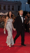 Boris Becker with his wife Lilly at Life Ball MINI charity event at Vienna city hall 19.07.2010