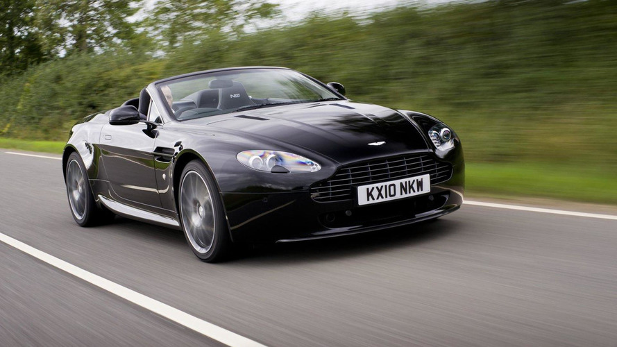 Aston Martin Vantage N420 Roadster first photos released