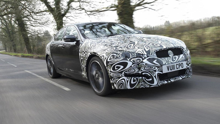 2012 Jaguar XF teased for NY Auto Show debut