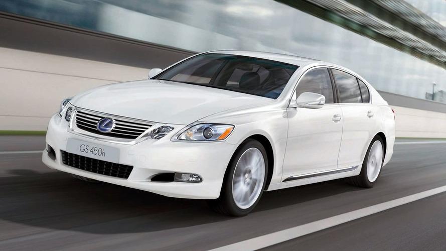 Lexus GS 450h gets a Mild Facelift for 2010MY