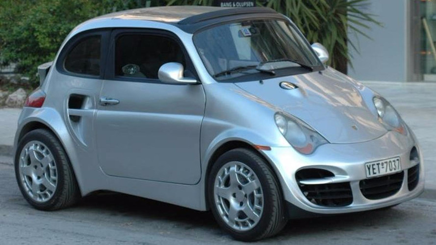 The Fiat 500 that looks like a Porsche 911