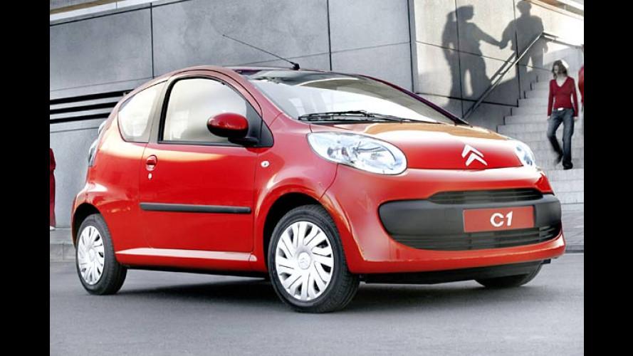 Citroën C1: Von eins bis sechs nun alles komplett