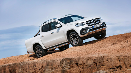 2018 Mercedes X-Class Pickup Debuts With 190HP, Off-Road Chops