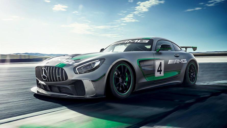 Mercedes-AMG GT4, una verdadera máquina de carreras