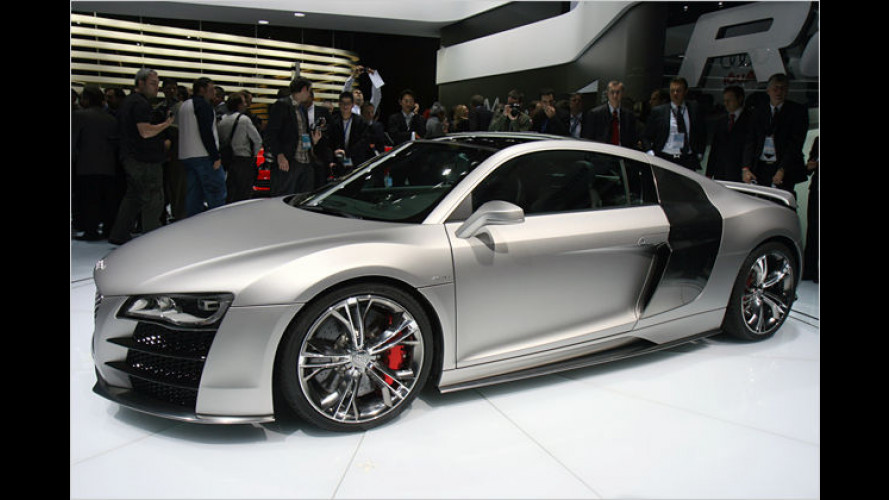 Audi R8 V12 TDI in Detroit: Supersport mit zwölf Zylindern