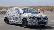 2017 Volkswagen Polo Spy Photos Desert