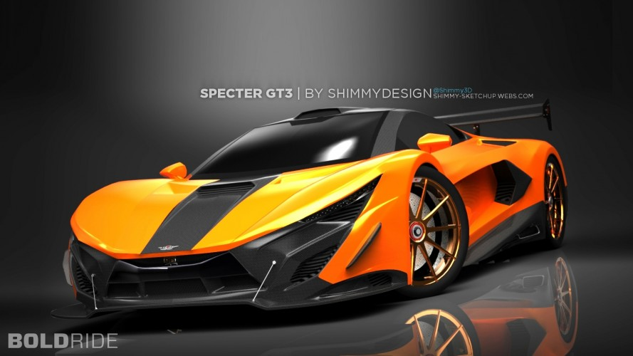 Shimmy Specter GT3 Concept by Shimmy Design