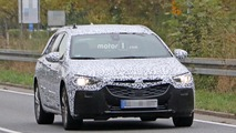 2017 Opel Insignia Sports Tourer spy photos