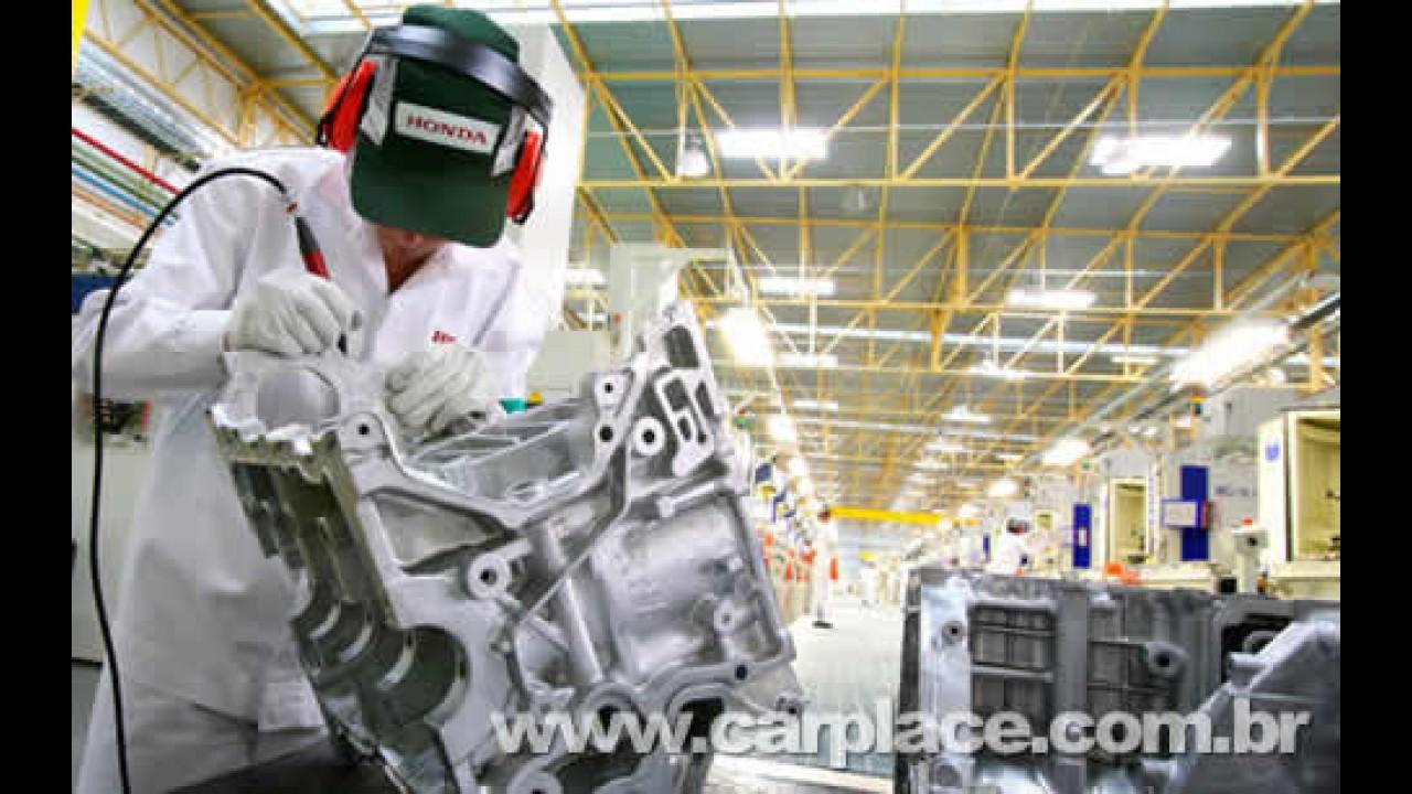 Honda inaugura novo setor Power Train para produção de motores no Brasil