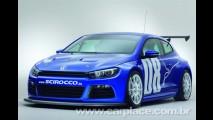 Versão para corrida: Volkswagen mostra Scirocco GT24 com 325 cv de potência