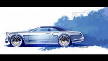 Bentley Mulsanne Convertible Concept. I primi disegni