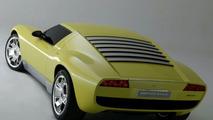 Lamborghini Miura Concept on show at NAIAS